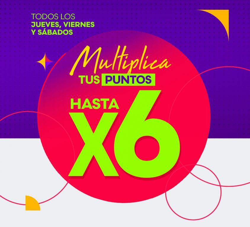 Multiplica hasta X6
