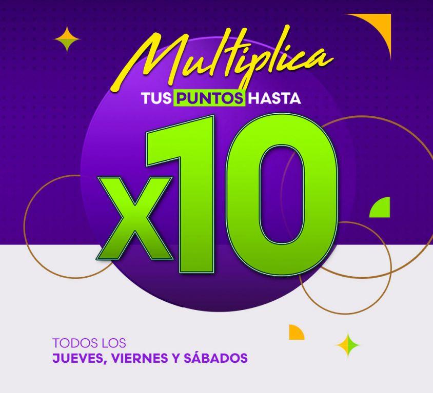 Multiplica x 10